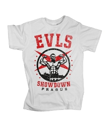 Men Tee EVLS Showdown White