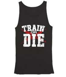 Men Tank Top EVLS Showdow Black